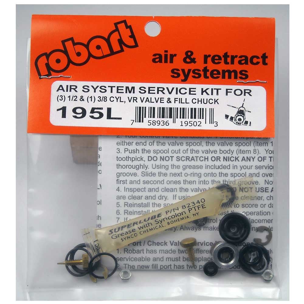 #195L   Large Scale Retract Air System Service Kit
