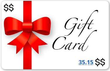 GiftCard Product Test