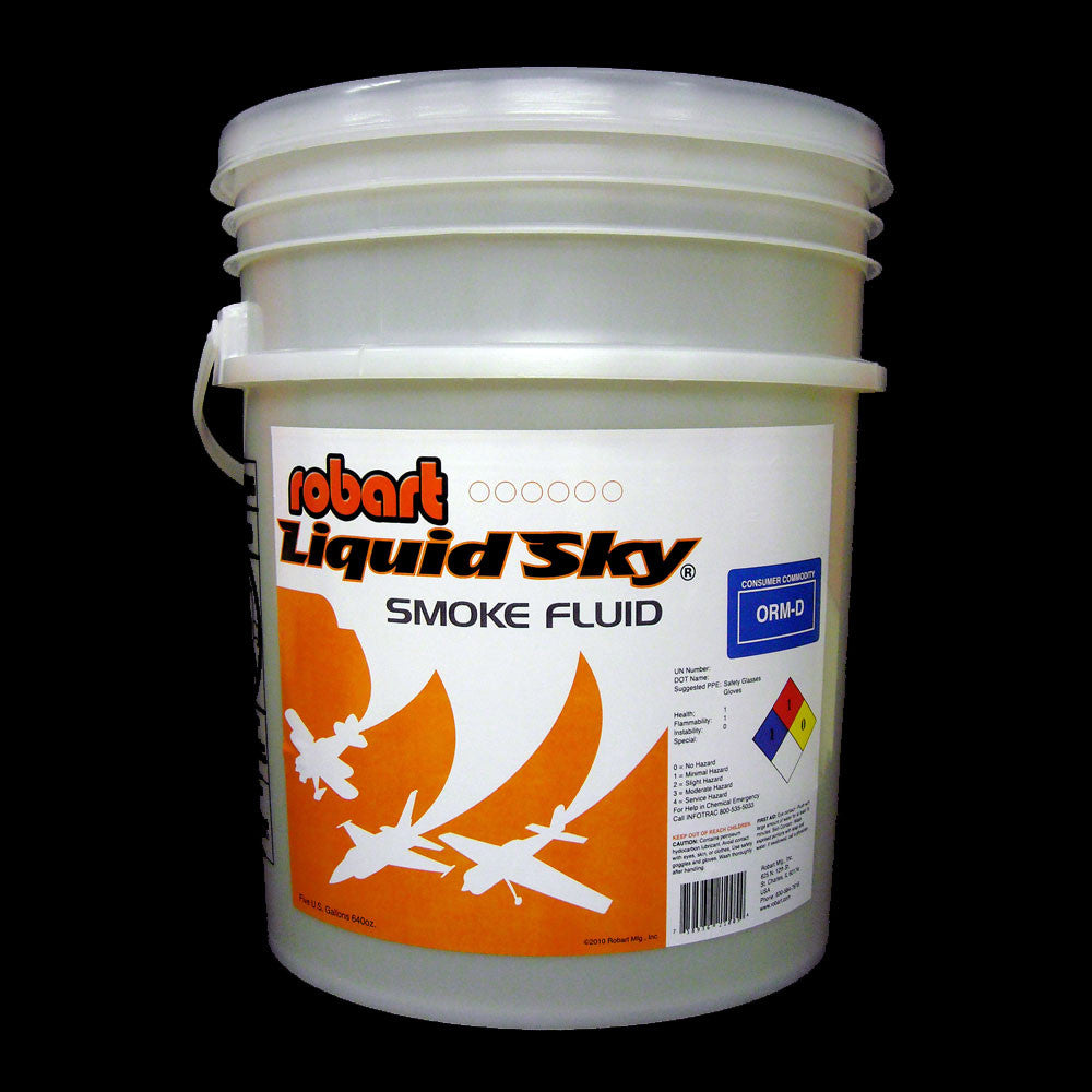#210-5 Liquid Sky Smoke Oil - 5 Gallon