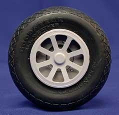 "2 1/4"" Diamond Tread Wheel"