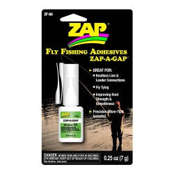 ZF-04 Zap-A-Gap FlyFishing Adhesives