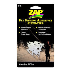 ZF-21 Zap Flexi-Tips Fly Fishing Adhesives