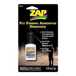 ZF-17 Zap Debonder Fly Fishing Adhesives