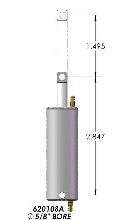 #620108A   Air Cylinder Assembly