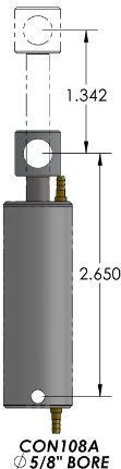 #CON108A   Air Cylinder Assembly