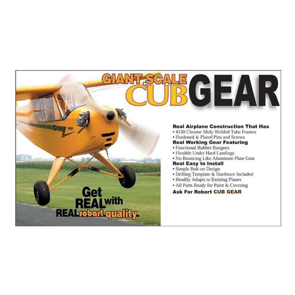 #689   1/5 Scale Piper Cub Landing Gear