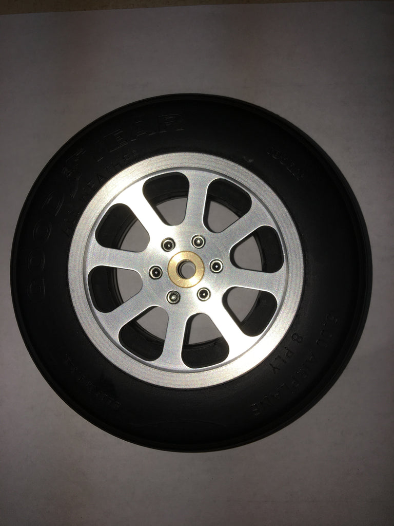 #13850G8S Slim 8 Spoke Aluminum Wheels