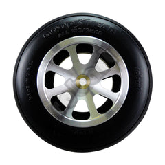 "Aluminum Wheels for 5"" - 6"" Tire 1/4"" Axle"