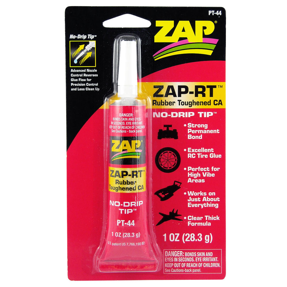 #PT-44   ZAP-RT  Rubber Toughened CA