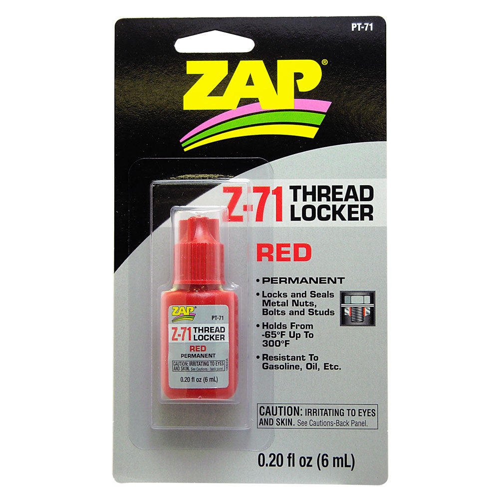 #PT-71   .20 oz. Z-71 Red Threadlocker