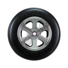 "Aluminum Wheels for 4"" - 4 1/2"" Tire 1/4"" Axle"