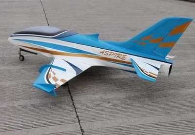 "Top RC Aspire Sport Jet 79"" BLUE"