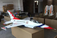 Top RC F-16 Scale R/C Jet 97''