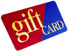 Gift Card  (Up to $250)