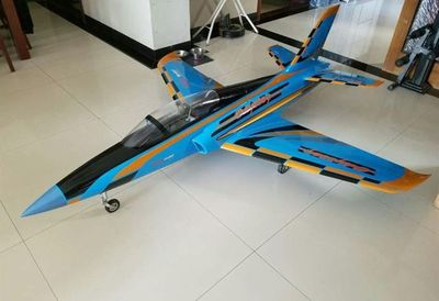 Top RC Odyssey Sport Jet 91'' Blue and Black