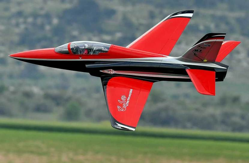 Top RC Odyssey Sport Jet 91'' Red and Black