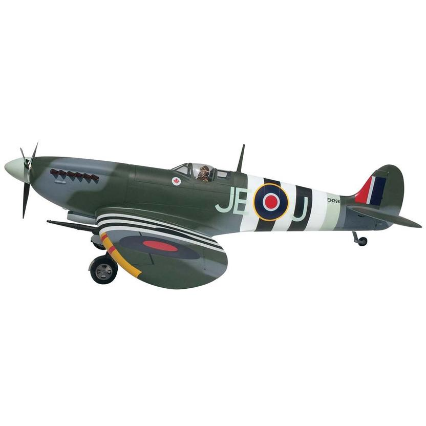 Top RC Spitfire Mk IX Scale RC Plane 81''