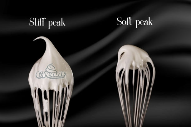 difference between soft peaks and hard peaks
