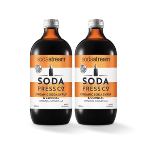 SodaStream Soda Press Ginger Ale Twin Pack Soda post mix syrup SodaStream
