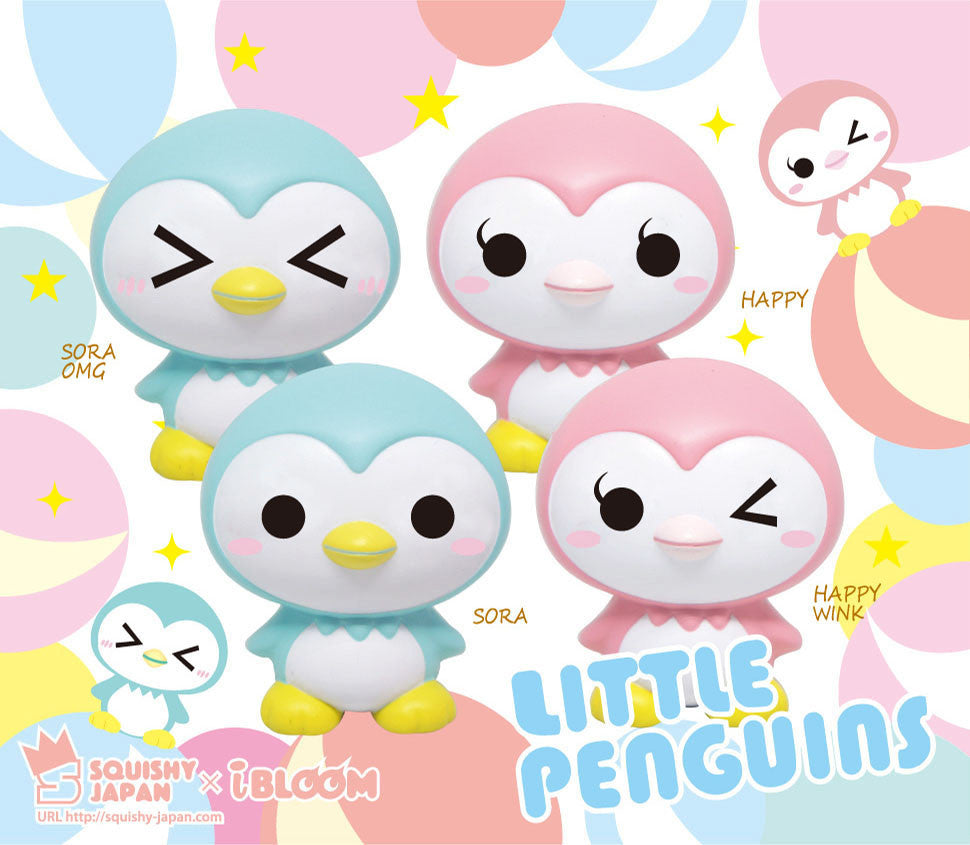 ibloom Little Penguins Squishy