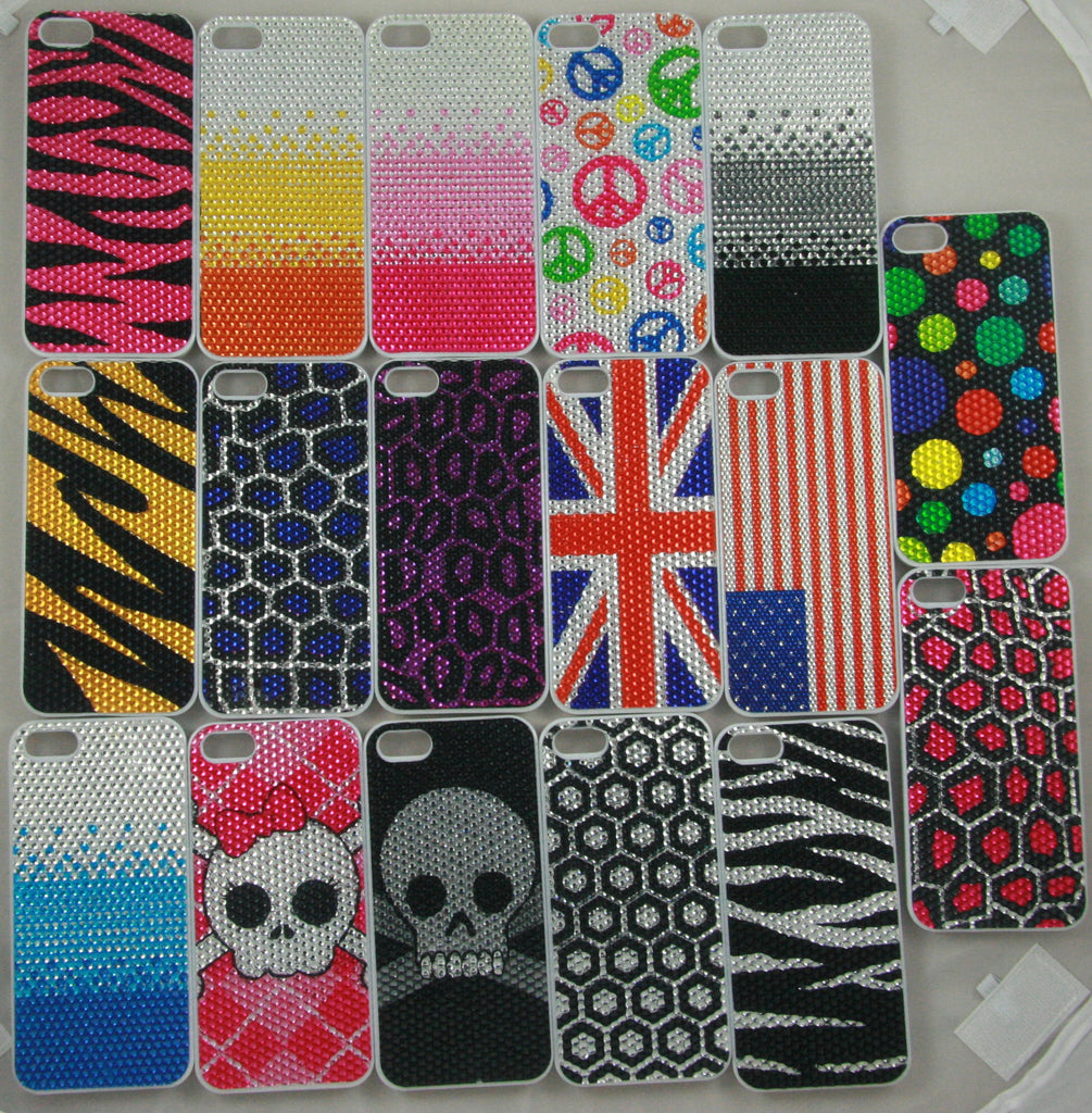 iPhone 5 Cases with Cute Bling Patterns
