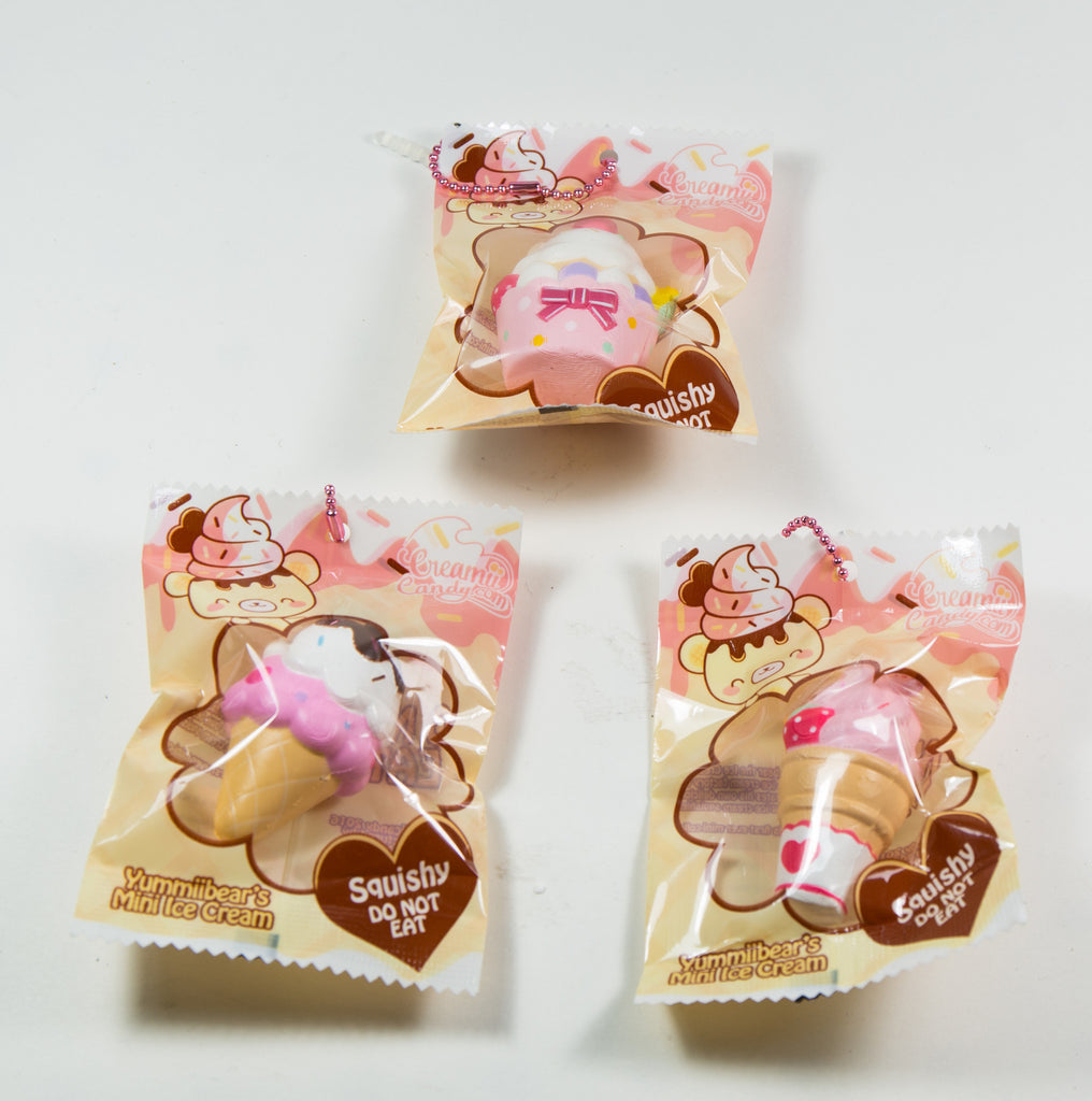 Yummiibear Creamiicandy Exclusive Mini Icecream Collection Super Squishy Scented