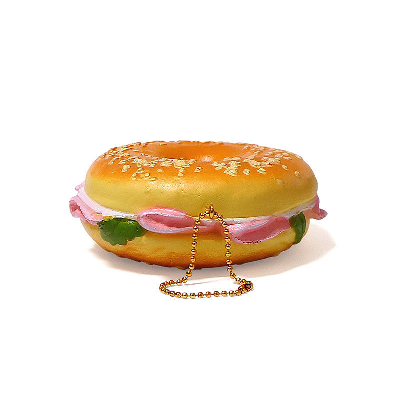Authentic Cafe de N Bagel Sandwich Super Squishy by NIC