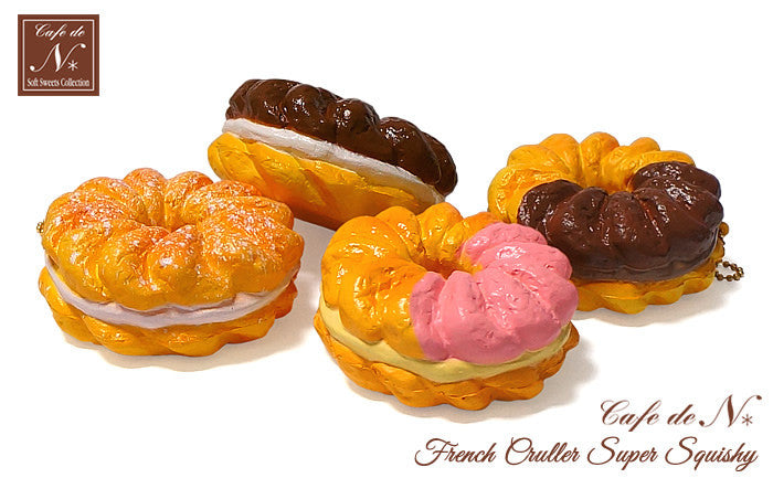 Cafe de N French Cruller Super Squishy