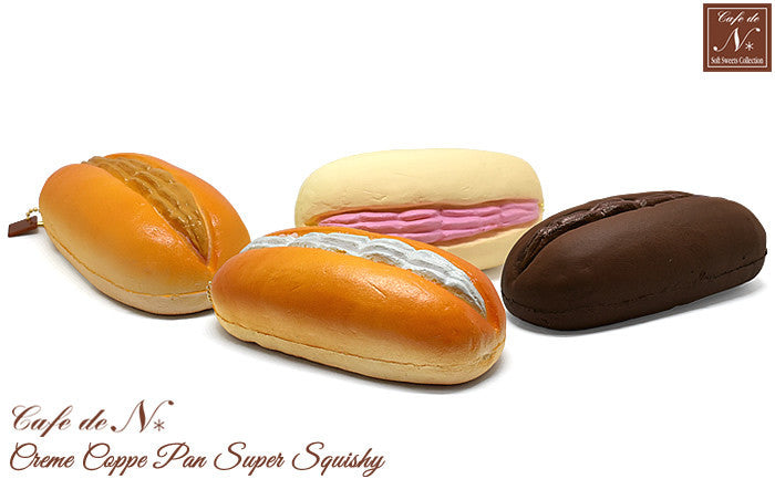 Cafe de N Bakery Cream Koppe Pan Super Squishy by NIC
