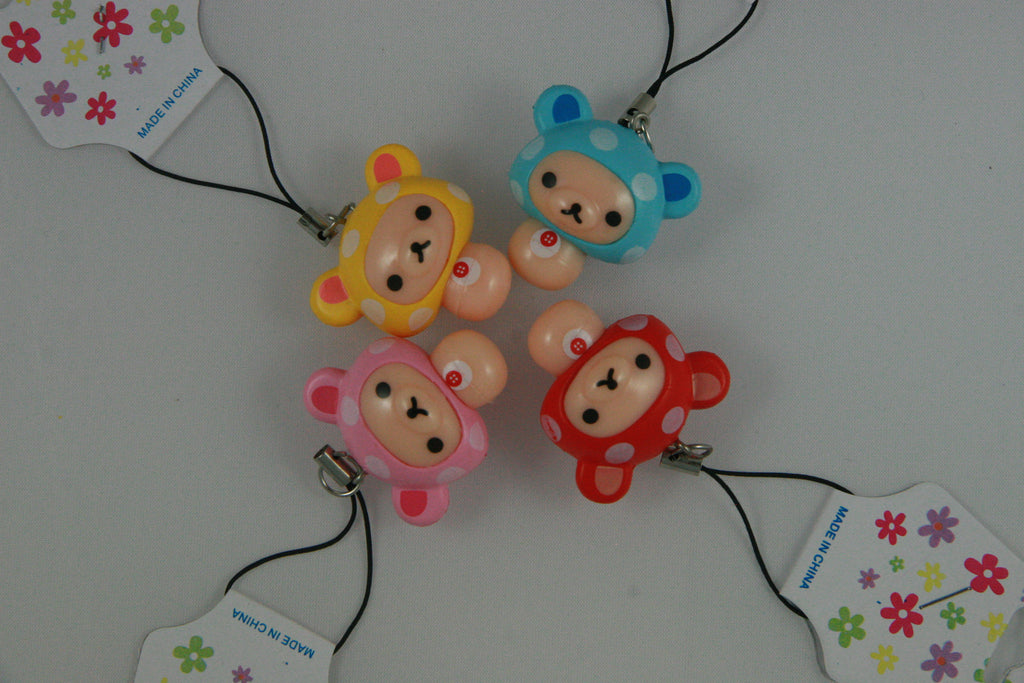Korilakkuma Cell Phone Charms