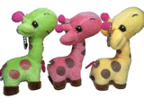 Giraffe Cute Colored Plushy