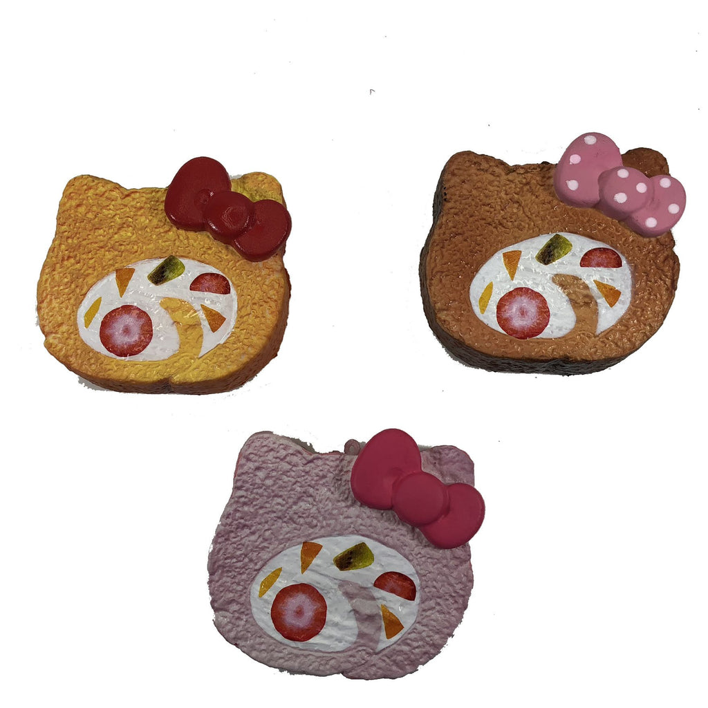 New Hello Kitty Roll Cake Squishy by NIC