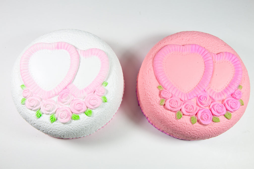 Areedy Love Heart Cake Scented Slow Rising Squishy