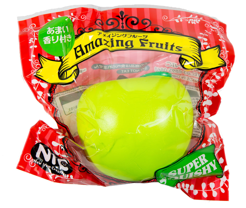 Amazing Fruits Big Apple Squishy by NIC