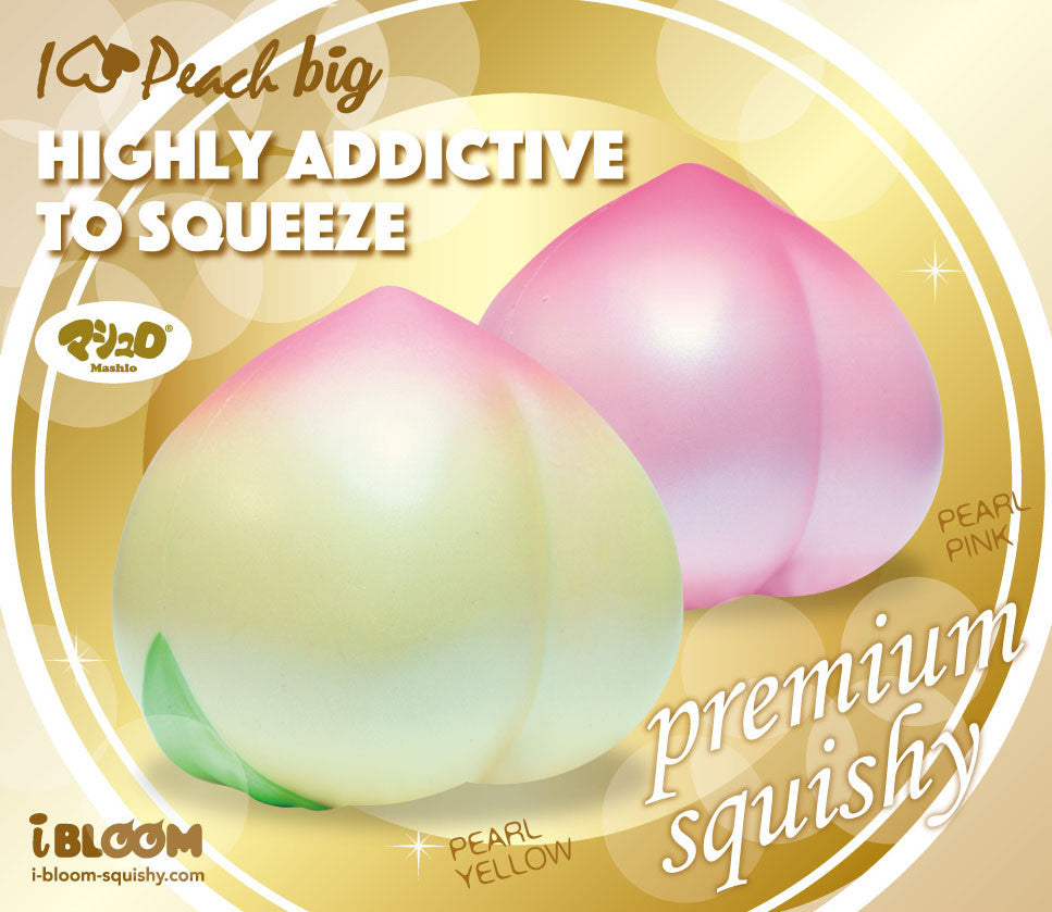 iBloom Super Jumbo I Love Peach Squishy