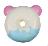 Puni Maru Jumbo Animal Donut Squishy Strawberry Panda version rear view