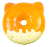 Puni Maru Jumbo Animal Donut Squishy pink cat  version rear view