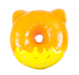 Puni Maru Jumbo Animal Donut Squishy pink owl version rear view