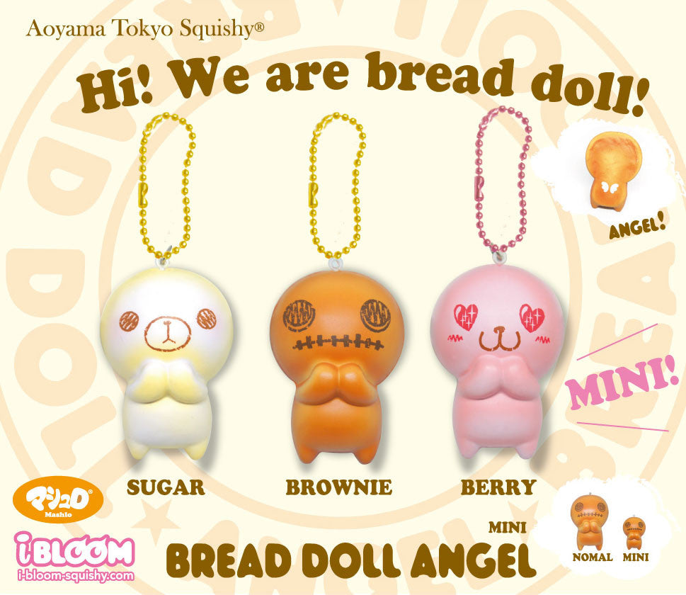 Mini ibloom Bread Doll Angels