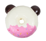 Puni Maru Jumbo Animal Donut Squishy Chocolate Panda version rear view