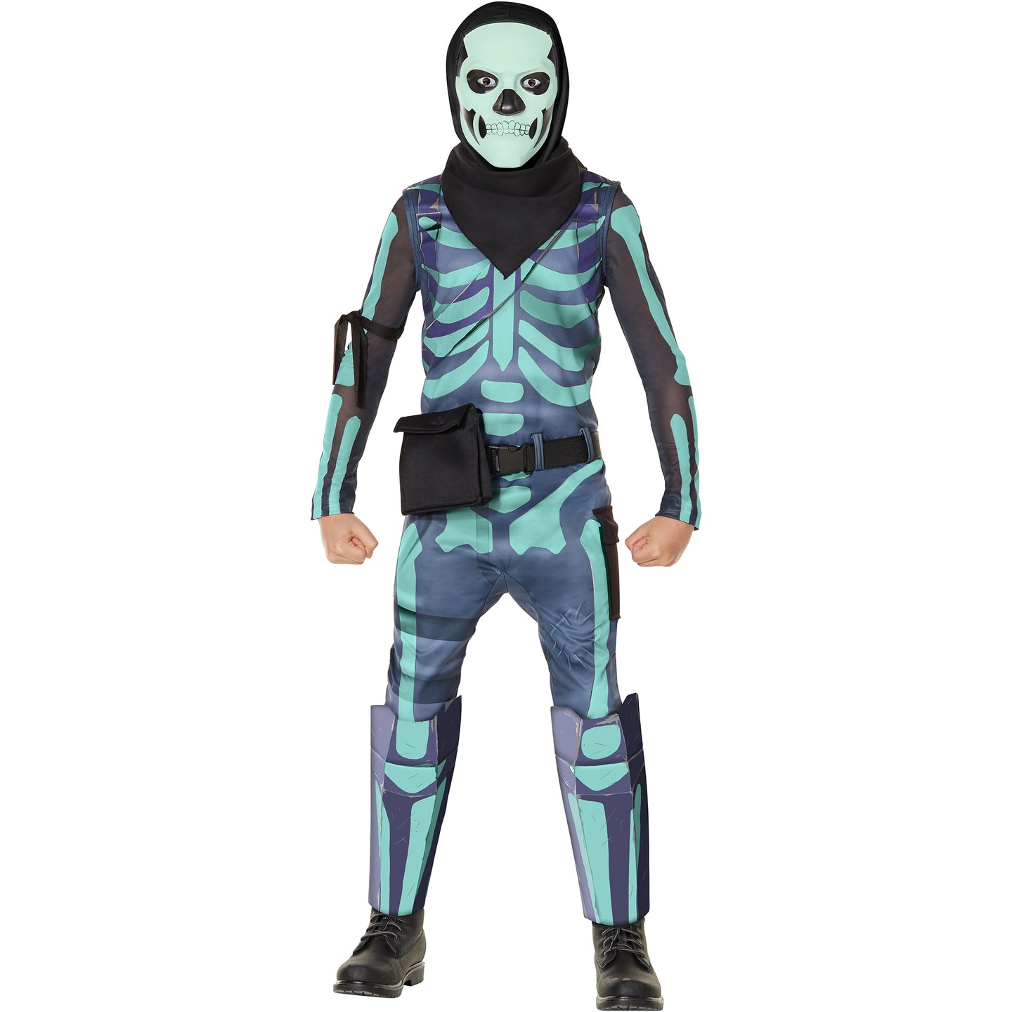 SKULL TROOPER (GREEN GLOW) YOUTH 104732