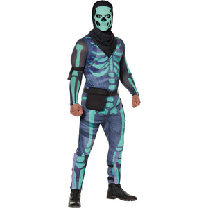SKULL TROOPER (GREEN GLOW) ADULT 105134