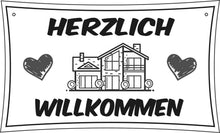 Load image into Gallery viewer, Homemade Haus ohne Name, ohne Foto Türschild - personalisiert mit Name und Foto- Deko*