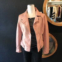 Blush Vegan Biker