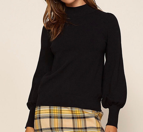 Mila Mock Neck Sweater
