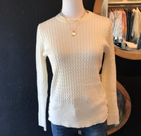 Cris Cable Knit Sweater