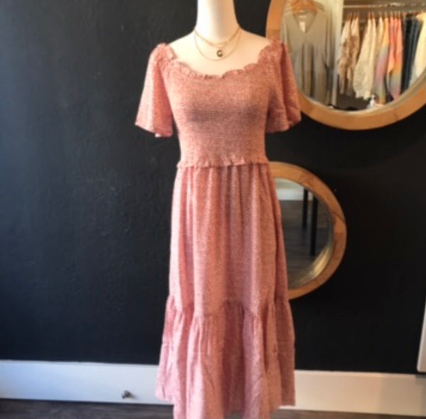 Laura Smocked Maxi Dress