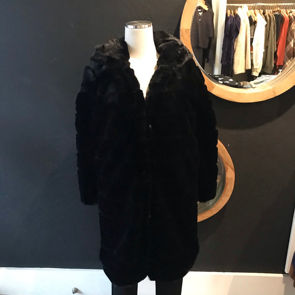 Tiffany Tiered Fur Coat
