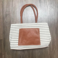 Striped Summer Tote