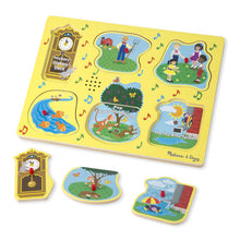 Load image into Gallery viewer, Sing-Along Nursery Rhymes Sound Puzzle - Yellow